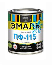Эмаль ПФ-115 ГОСТ,  Helles Plus,  25 цветов,  грунт,  тара от 1 до 55 кг